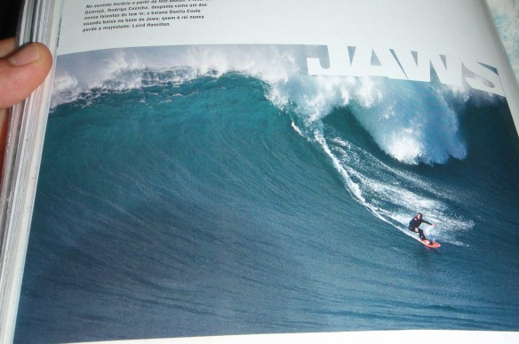 "Rodrigo Koxa - ""Revista Fluir"" JAWS / Hawaii"