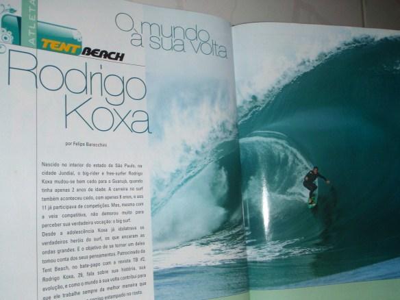 "Rodrigo Koxa ""Revista Tent Beach"" Teahupoo"