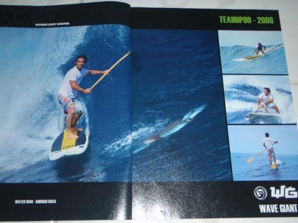 """Rodrigo Koxa """"Anúncio Wave Giant"""" Stand Up Paddle Teahupoo"""