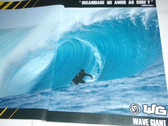 "Rodrigo Koxa - ""Revista Hardcore"" Anúncio Wave Giant"