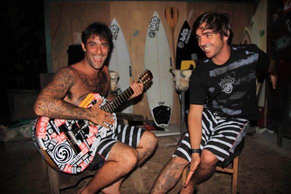 A dupla Vitor Faria e Rodrigo Koxa.