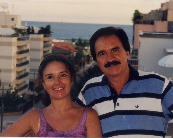 Mãe e Pai de Koxa. ( Sandra e Hélio ) Casal que apoiou 100% a trejetória do Big rider.