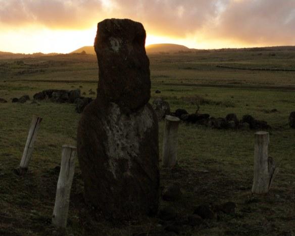 Moai sagrado para os Rapa Nui. Foto:Akiwas