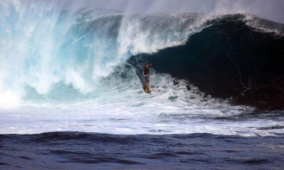 Koxa no tubo em Rapa Nui. Foto:Akiwas