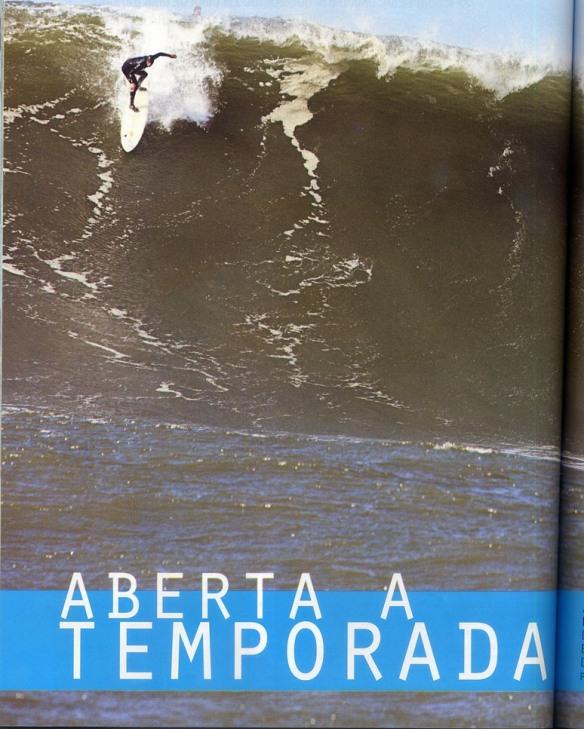 "Rodrigo Koxa dropando Maverick´s ""na remada"". Foto:FredPompermayer"