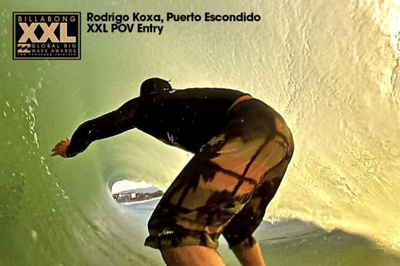 Rodrigo Koxa entrando na disputa do XXL 2013 pela categoria POV em PUERTO ESCONDIDO Mex, 4/9/2013. XTRAX