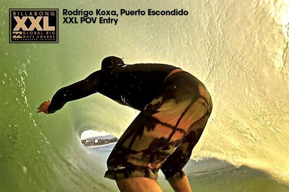 Rodrigo Koxa entrando na disputa do XXL 2013 pela categoria POV em PUERTO ESCONDIDO Mex, 4/9/2013. XTRAX