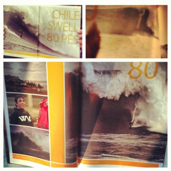 Revita Alma Surf mes de Agosto/setembro com 2 paginas duplas e uma página.