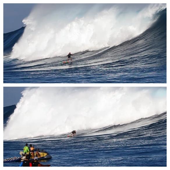 Rodrigo Koxa dropando Jaws. Foto: Bruno Lemos