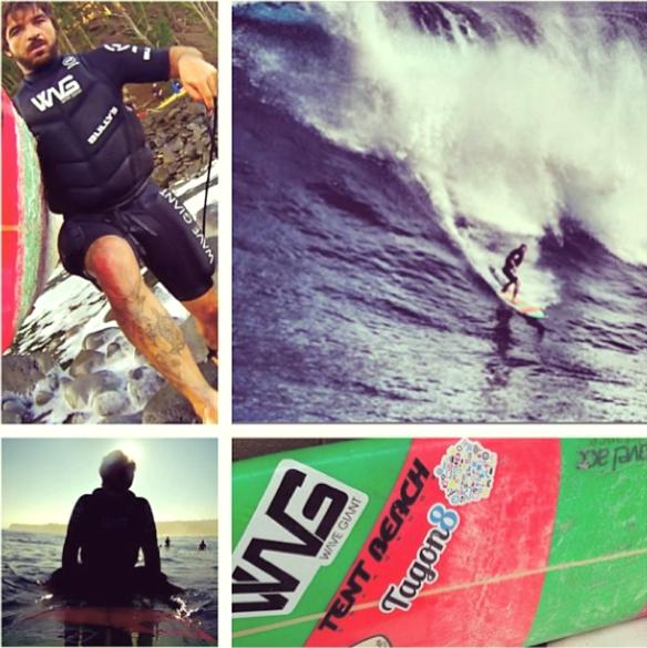 Rodrigo koxa dropando a direita de JAWS. 19/1/2014